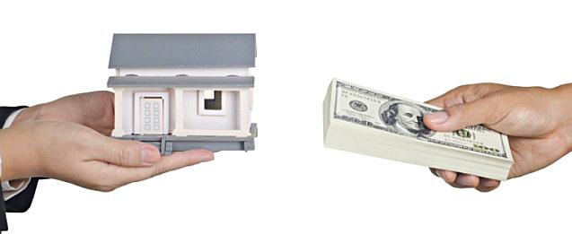 Ofertar dinero por una casa